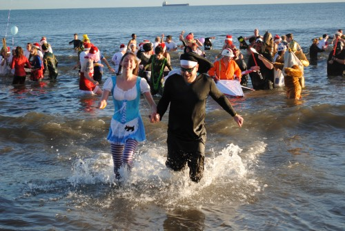 It will soon be time for the Boxing Day and New Years Day Dips - big fund raisers for our coastal Lions Clubs!