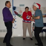Lion Peter Crookes joining in with some of the participants enjoying the disco.
