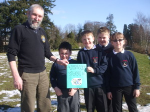Thank you Banchory Lions from school children