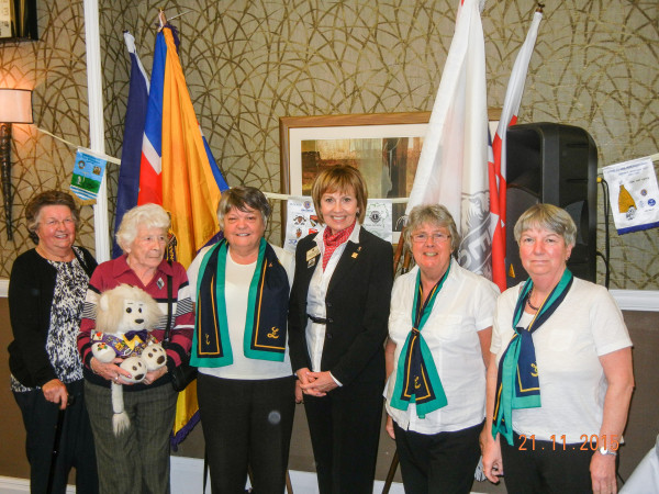 Northallerton Lionesses Margaret, Betty, Christine, Gudrun, Christine and Susan were privileged to meet past International Director Lion Guðrún Yngvadóttir from Iceland at the 33rd 105 NE Convention at Scotch Corner in November. (A full convention report will follow shortly)
